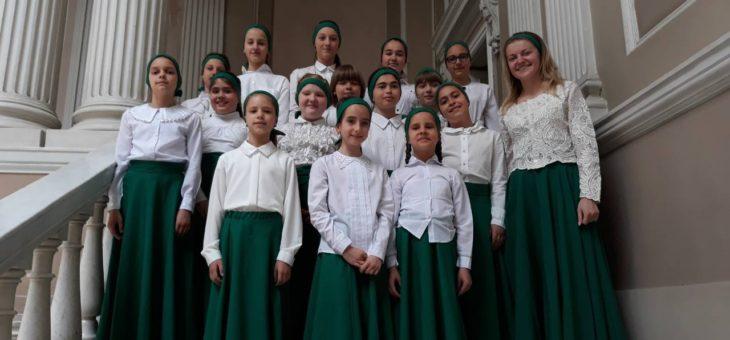 Хор воскресной школы Свято-Алексеевского храма города Одессы принял участие во II-м Православном фестивале духовно-хорового искусства «От моря до небес»