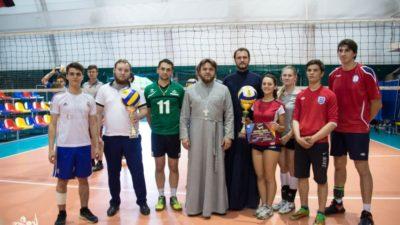 Сборная молодежи Свято-Алексеевского храма города Одессы победила во II-м православном межприходском турнире по волейболу 2018 года