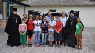 Клирики Одесской епархии посетили интернат для детей с проблемами умственного развития села Михайловка Одесской области