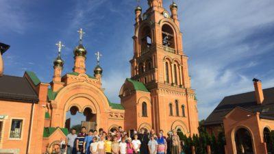 Паломническая поездка Воскресной школы «Человек Божий» по святым местам Киева, 2018-й год
