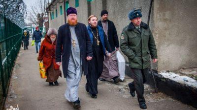 Духовенство Алексеевского храмового комплекса посетило задержанных Одесского следственного изолятора