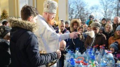 Празднование Крещения Господня в Свято-Алексеевском храме, 2019 год