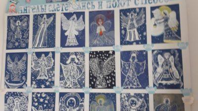 Воскресная школа «Человек Божий» при Свято-Алексеевском храме города Одеccы  получила две первых премии на XXIV международной выставке-конкурсе детского творчества «Рождественская звезда 2019»