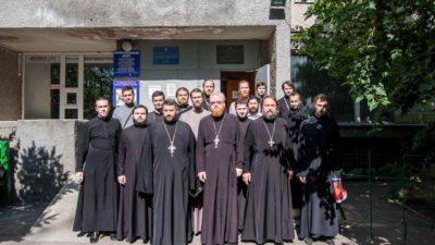 Настоятель  нашего храмового комплекса протоиерей Павел Полещук принял участие в акции по сдаче крови пациентам Одесской областной детской клинической больницы