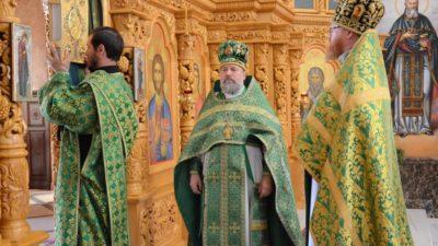 Троица в Свято-Алексеевском храме, 2019-й год