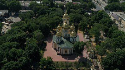 В Свято-Алексеевском храме города Одессы состоялись торжества по случаю престольного праздника храма, 2021-й год