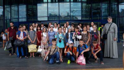 Наша Воскресная школа «Человек Божий» посетила город Киев, 2019-й год