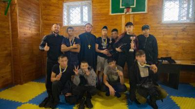 Сотрудниками социального отдела Одесской епархии организованы очередные спортивные соревнования в Одесском следственном изоляторе