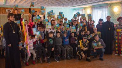 Клирик нашего храма протоиерей Андрей Полещук в числе делегации духовенства Одесской епархии посетил ряд детских учебно-воспитательных учреждений Одессы и области